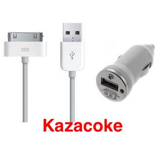Chargeur voiture et cable usb apple iphone 4 4s achat prix fnac - Chargeur iphone 6 fnac ...
