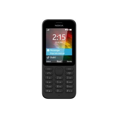 photo Nokia 215 - noir - GSM - téléphone mobile - Smartphone