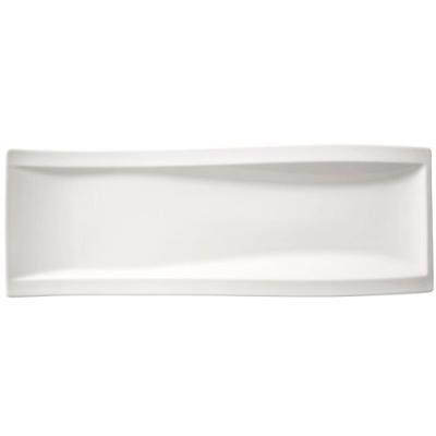 Image du produit villeroy & boch 10-2525-2596 newwave lot de 4 assiettes à antipasti 42 x 15 cm