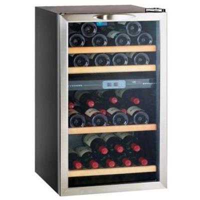 Cave de service 2 temp. - 40 bouteilles - Noir - CLIMADIFF - ACI-CLI464 - Pose libre