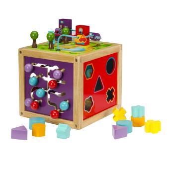 cubes d 39 activit s en bois oko a achat prix fnac. Black Bedroom Furniture Sets. Home Design Ideas