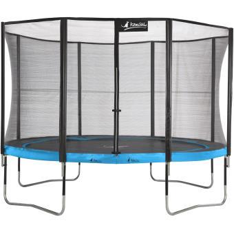 kangui trampoline de jardin 365 cm filet de s curit punchi atoll 360 achat prix fnac. Black Bedroom Furniture Sets. Home Design Ideas