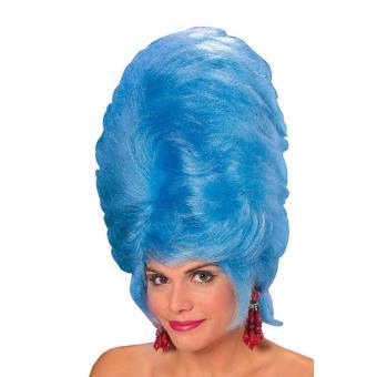 votre Perruque Choucroute Bleue Deluxe