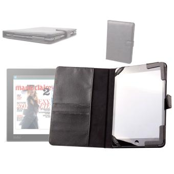 Housse etui style porte document noir pour tablette kobo for Housse kobo arc 7