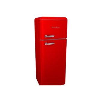 r frig rateur deux portes vintage 208 litres 168 litres 40 litres schaub lorenz sl208ddr. Black Bedroom Furniture Sets. Home Design Ideas
