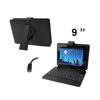 housse clavier universelle tablette tactile 9 pouces micro. Black Bedroom Furniture Sets. Home Design Ideas