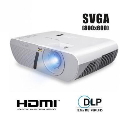 Viewsonic PJD6552LWS. Luminosité du projecteur 3200 ANSI lumens, Technologie de projection DLP, Résolution native du projecteur WXGA (1280x800). Durée de vie de la lampe 4000h, Puissance de la lampe 210W. Mise au point Manuel, Taux de rejet 0.49 1. Systèm