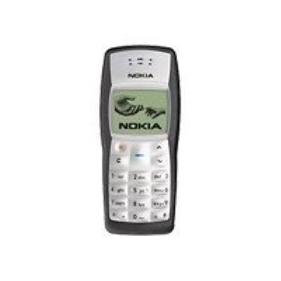 photo Nokia 1100 - noir - GSM - téléphone mobile - Smartphone