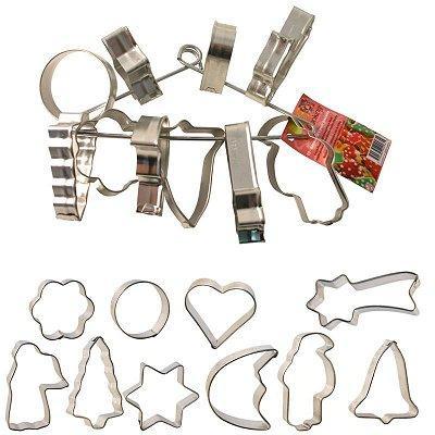 Image du produit ScrapCooking® - 10 Découpoirs sur cintre - Noël