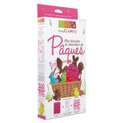 Image du produit ScrapCooking® - Coffret atelier cuisine - Kit Mes biscuits & chocolats de Pâques