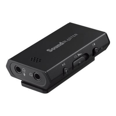 Le Sound Blaster E1 est un amplificateur de casque portable et puissant compatible avec les casques de 600 ohms de qualité studio, pour la lecture audio, doté de deux prises casque pour partager facilement votre musique avec vos amis.Vous en avez assez de