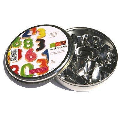 Image du produit ScrapCooking® - Boîte 10 découpoirs - Chiffres