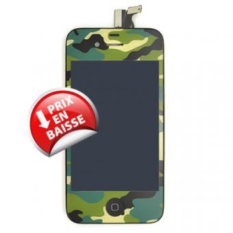 iphone 4s vitre tactile camouflage cran lcd pr mont avec ch ssis achat prix fnac. Black Bedroom Furniture Sets. Home Design Ideas