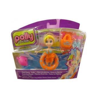 Polly pocket f te la piscine mattel achat prix fnac for Piscine polly pocket