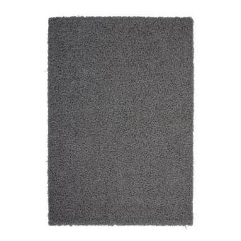 tapis salon shaggy trendy 30mm 120x160 gris fonc achat. Black Bedroom Furniture Sets. Home Design Ideas