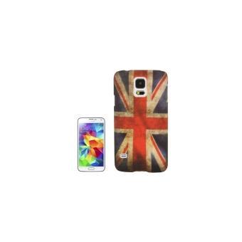 Galaxy s5 i9600 coque housse en plastique drapeau for Housse en anglais