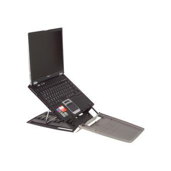 Bakker elkhuizen ergo q 330 support pour ordinateur portable avec porte documents - Porte ordinateur portable ...
