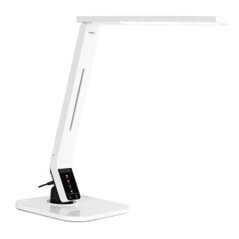 Oneconcept daily light lampe de bureau led usb blanc top - Lampe bureau usb ...