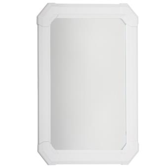 Miroir rectangulaire pvc blanc achat prix fnac for Miroir blanc rectangulaire