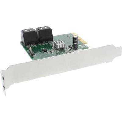 InLine 76617D. Interface de lhôte PCIe, Interface de sortie SATA, PCI version 2.0. Niveaux RAID 0, 1, 10, JBOD, Taux de transfert de données (max) 10 Gbit s Caractéristiques - Interface de lhôte PCIe - Interface de sortie SATA - Interne Oui - PCI version