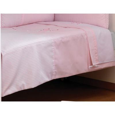 Cambrass - Dessus de lit déhoussable Collection 61 Rose - 60x120 cm pour 146€