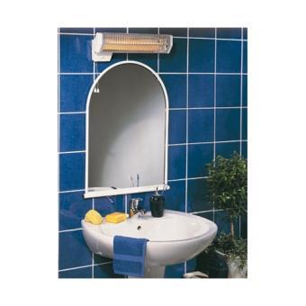 Chauffage infrarouge 1200w minuterie salle de bain quartz - Chauffage salle de bain infrarouge ...