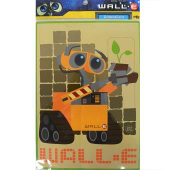 sticker wall e achat amp prix fnac disney decal wall e eve robot love window sticker amazon