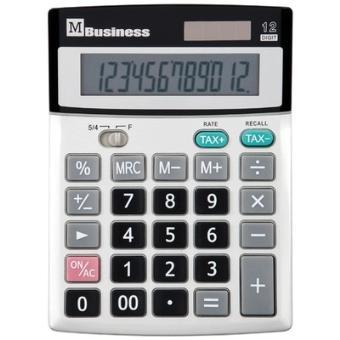 Business calculatrice de bureau 12 chiffres m business for Calculatrice prix