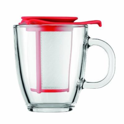 Image du produit Bodum - Mug infuseur yoyo rouge