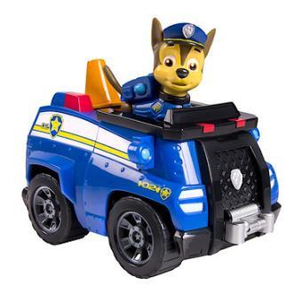 paw patrol chase et sa voiture de police figurine et v hicule achat prix fnac. Black Bedroom Furniture Sets. Home Design Ideas