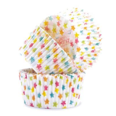 Image du produit Caissettes pour cupcakes Etoiles
