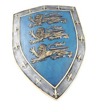 Blason 39 richard coeur de lion 39 bleu achat prix fnac - Armoiries richard coeur de lion ...