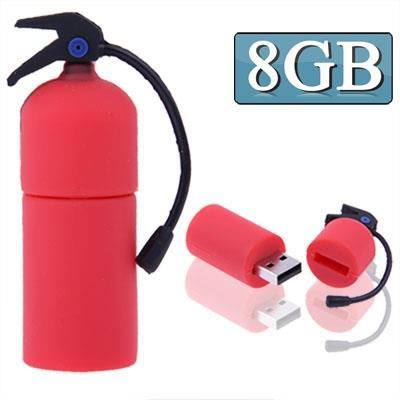 8GB Extinguisher Style USB Clé Clef USB