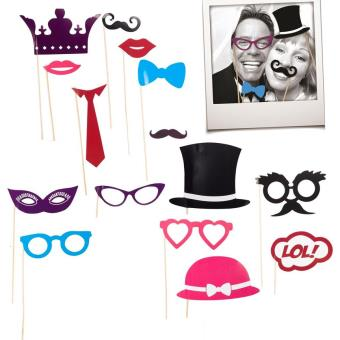 15 d guisements masque pour cabine photo photobooth mariage anniversaire achat prix fnac. Black Bedroom Furniture Sets. Home Design Ideas