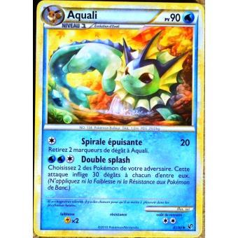 Carte pok mon 41 90 aquali 90 pv hs indomptable neuf fr achat prix fnac - Carte pokemon aquali ...