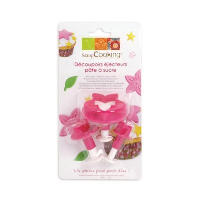 Image du produit Emporte-pièce pâte à sucre étoile feuille fleur