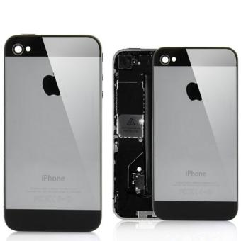 vitre arri re iphone 4 noir style iphone 5 achat prix fnac. Black Bedroom Furniture Sets. Home Design Ideas