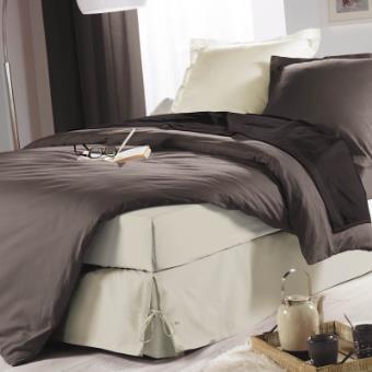 cache sommier nouettes 140x190 naturel achat prix fnac. Black Bedroom Furniture Sets. Home Design Ideas