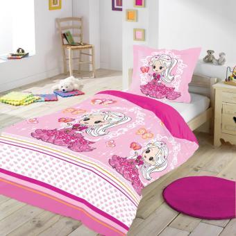 Housse de couette 140 x 200 cm taie princesse rose achat prix fnac - Housse de couette princesse 2 personnes ...
