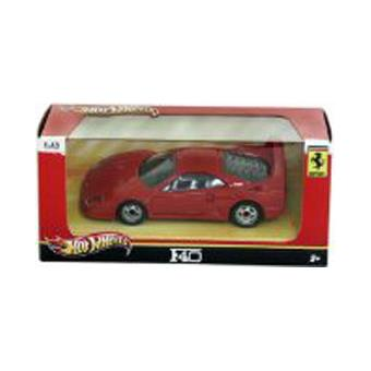 voiture hot wheels ferrari f40 1 43 achat prix fnac. Black Bedroom Furniture Sets. Home Design Ideas