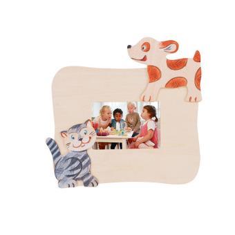 Cadre en bois chien d corer henri achat prix fnac for Miroir chambre de bebe