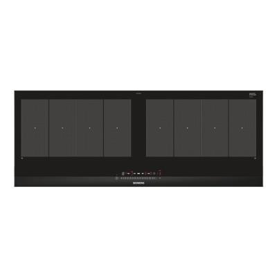 Siemens iQ700 EX275FXB1E table de cuisson à induction - 90 cm - noir - vitrocéramique - avec garnitu