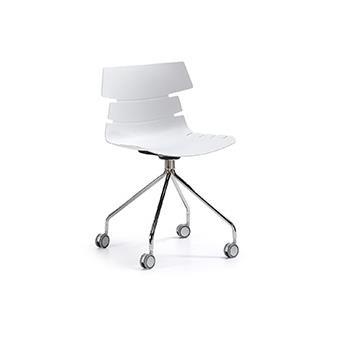 chaise de bureau pulmak blanc achat prix fnac. Black Bedroom Furniture Sets. Home Design Ideas