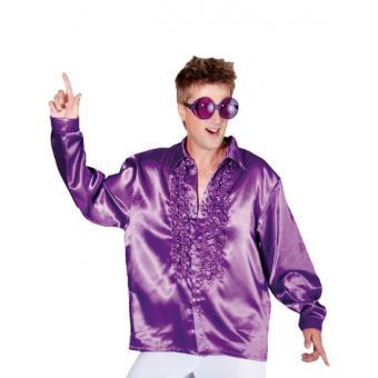 chemise disco homme l violet achat prix fnac. Black Bedroom Furniture Sets. Home Design Ideas