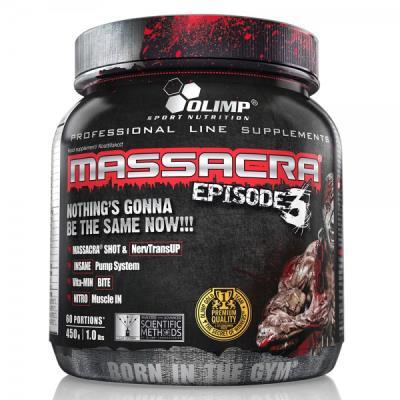 Massacra Episode 3- Le Booster De Pre-entrainement Olim Sport Nutrition pour 35€