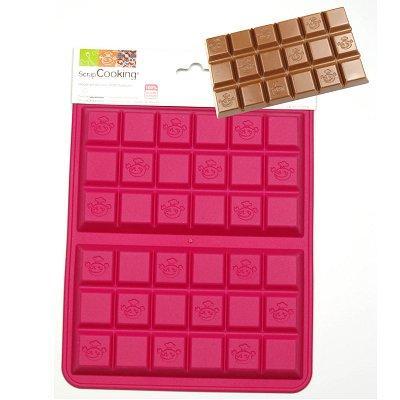 Image du produit ScrapCooking® - Moule en silicone - Tablettes de chocolat