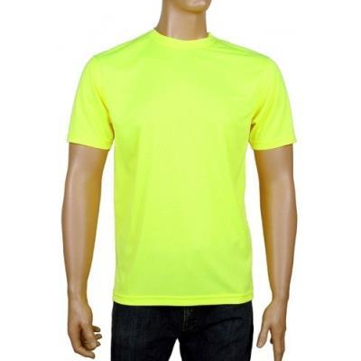 Coole-fun-t-shirts Maillot De Running Neon Fluorescent Jaune Noir Neongelb L pour 37€