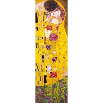 gustav klimt papier peint photo poster le baiser 1908 1 partie 250x79 cm top prix sur. Black Bedroom Furniture Sets. Home Design Ideas