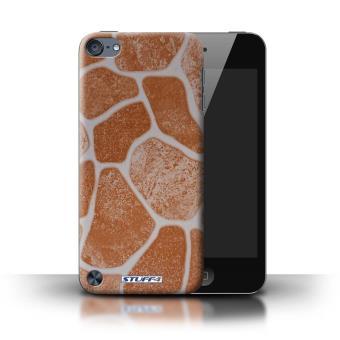 iPod Touch 5 / Sol en Pierre/Orange Design / Pierre/Rock Collection