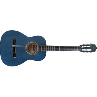 guitares enfants stagg guitare classique 3 4 bleu guitares classiques top prix fnac. Black Bedroom Furniture Sets. Home Design Ideas